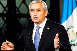 El presidente Otto Pérez, desafía las voces de la calle que exigen su renuncia