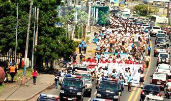 Cientos de personas salieron a las calles para levantar la voz