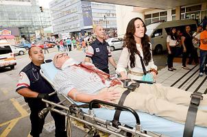 DIARIO EXTRA registró su llegada al Hospital San Juan de Dios