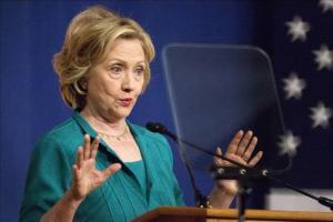 Los republicanos acusan a Clinton de dañar la seguridad nacional con sus correos La aspirante demócrata, Hillary Clinton. EFE/Archivo