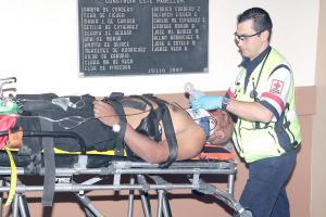 El hombre ingresó muy delicado al Hospital San Juan de Dios, donde murió horas después