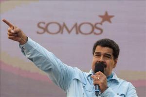 Venezuela regresa a su embajadora en Guyana y concede beneplácito a su colega El Presidente de Venezuela, Nicolás Maduro. EFE/Archivo
