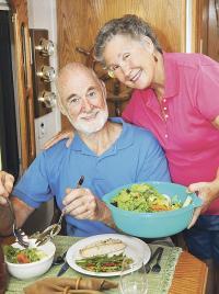 Anímese a incluir más verduras en su almuerzo y cena