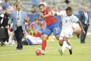 Costa Rica cayó ayer 0-2 ante Honduras, dirigida por Jorge Luis Pinto, resultado que deja fuera de las olimpiadas a los ticos