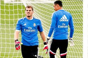 Iker Casillas fue compañero de Navas la temporada pasada en el Real Madrid