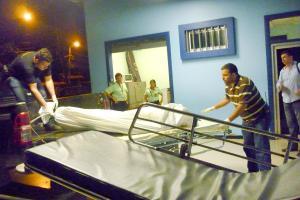 Trasladaron el cadáver de Rafael Salazar Zúñiga de la clínica a la morgue