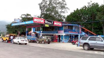 La gasolinera funcionó durante el fin de semana, había una cantidad que superaba los ¢15 millones
