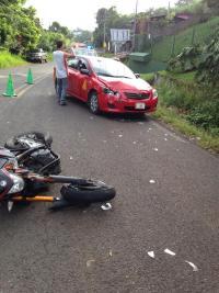 Es el quinto accidente que se presenta en esa zona durante 2015, indicó Guzmán.