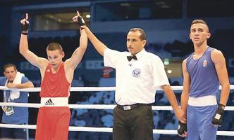 David Jiménez mantiene el objetivo claro de pulsear una medalla en el Mundial. (Foto: Cortesía Acobox)