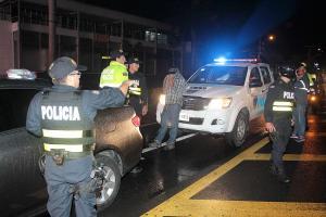 """La policía detuvo a """"Empanada"""" cuando pasaba por un retén policial en La Sabana"""
