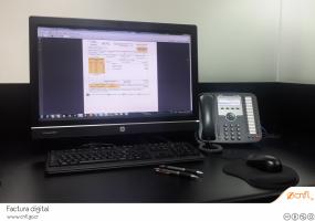 CNFL cambiará el sistema de facturación impresa a digítal