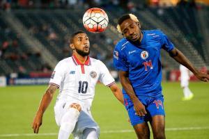 Dylan Flores marcó el gol con que empataron 1-1 ante Haití en el juego del miércoles