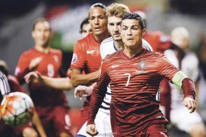 Cristiano Ronaldo tuvo un partido gris ante Dinamarca. (Foto: EFE)