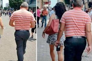 """El """"enfermazo"""" fue sorprendido grabándole las piernas y algo más a una mujer que caminaba por el centro de San José"""