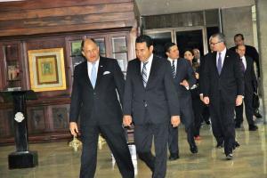 Tras recibir a Jimmy Morales, presidente electo de Guatemala, el mandatario Solís se mostró agradecido y con esperanza tras la decisión de Ecuador de solicitar visa a los cubanos