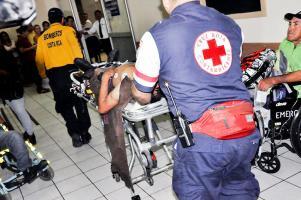 Trasladaron a los heridos en condición delicada a los hospitales de Alajuela y Liberia