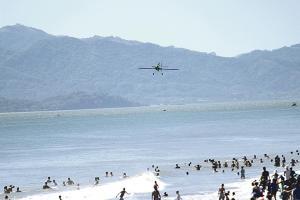 La organización se mostró satisfecha con el espectáculo brindado por los pilotos internacionales en Puntarenas