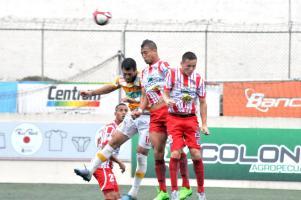 Herediano ganó en Guápiles luego de seis juegos sin conocer la victoria en el reducto santista. (Foto: José Rivera)