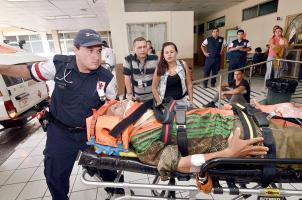 Gerardo Hidalgo fue llevado de emergencia al Hospital San Juan de Dios