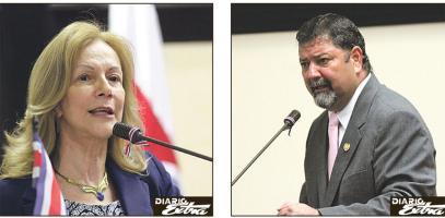 Cecilia Sánchez y Gustavo Mata, ministros de Justicia y Seguridad, respectivamente, se contradicen por liberación de reos