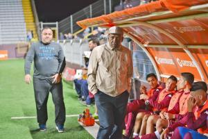 Carlos Watson reconoció la falta de movilidad y toque de pelota en el primer tiempo contra los sureños (Foto: Mauricio Aguilar)
