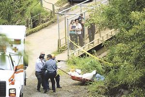 El cadáver del jamaiquino fue sacado del río por agentes judiciales luego de que unos lugareños lo divisaron