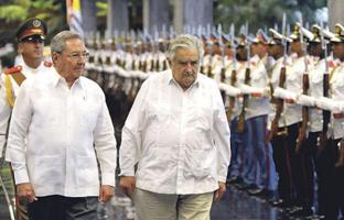 Mujica se reunió con Castro el pasado 30 de enero