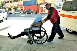 A los motorizados los trasladaron al Hospital Calderón Guardia
