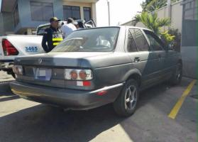 Este fue el carro que había sido sustraído hace más de 8 años.