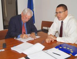 Autoridades del IICA y la UE firmaron convenio para implementación de programa