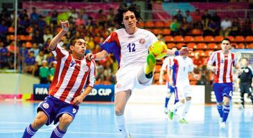 La selección nacional de fútbol sala se prepara con todo para revalidar el título de Concacaf en nuestro país