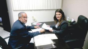 Ana Lucía Ramírez y Óscar Barahona, directora ejecutiva y presidente de Infocom, manifestaron que las instituciones del Estado deben sacar a concurso las necesidades que tienen en servicios de telecom