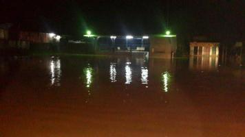 Sixaola volvió a inundarse por temporal.