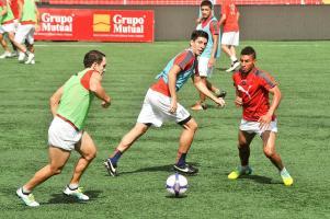 Alajuelense entrena fuerte en su casa, donde espera sacar provecho para tomar ventaja en la semifinal ante Saprissa
