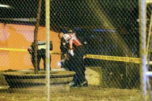 Técnicos en emergencias médicas de la Cruz Roja acudieron a la escena, sin embargo ya no había nada que pudieran hacer para salvarle la vida a Hernández