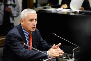 El expresidente Otto Pérez Molina negó una vez más haber recibido dádivas para  la construcción de un puerto
