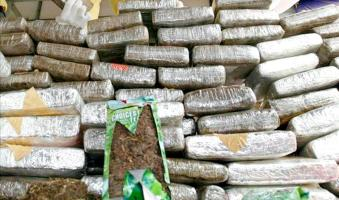 Las investigaciones revelan que el destino final de la droga era Argentina