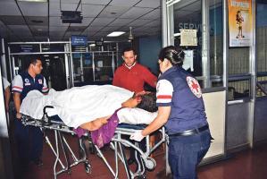El hombre de 23 años ingresó grave al Hospital Escalante Pradilla y luego murió