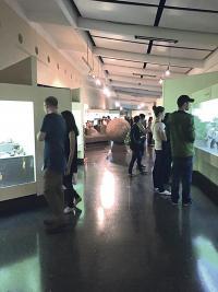 Un visita guiada por el Museo Nacional forma parte de las celebraciones de aniversario de esta institución