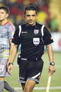 Leal es único árbitro costarricense que asistirá a las justas olímpicas