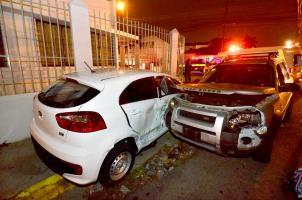 El suceso ocurrió en Montes de Oca, ninguna persona resultó herida