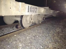 El cuerpo de Paniagua quedó debajo del tren con múltiples lesiones