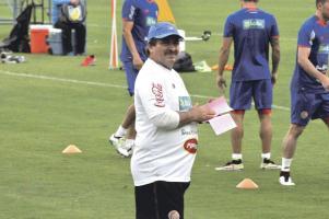 Óscar Ramírez entrenará mañana, por primera vez, con el grupo casi completo para Copa América. Solo faltará Keylor Navas