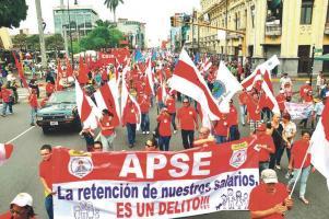 El Consejo Nacional de APSE acordó ir a huelga el 29 de junio
