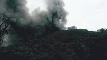 Escenario a pocos metros del Turrialba. (Foto: CNE)