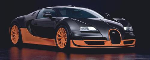 El Bugatti Veyron es el carro más caro de la colección de Cristiano Ronaldo, vale €1,5 millones y supera los 400 km/h