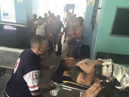 Remitieron al herido en condición crítica al Hospital  Dr. Tony Facio