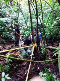 Agentes OIJ levantaron los restos óseos y elementos que pertenecerían a Cody