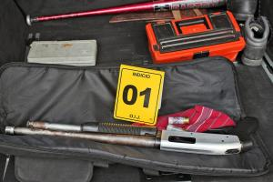 El OIJ decomisó armas y mota en la vivienda del sospechoso de liquidar a dos hombres en Quepos y Grecia