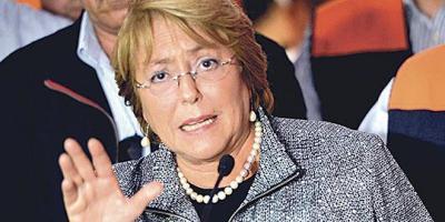 Cuentas dio Bachelet por los actos de corrupción de su hijo y su nuera, pero ella no está involucrada